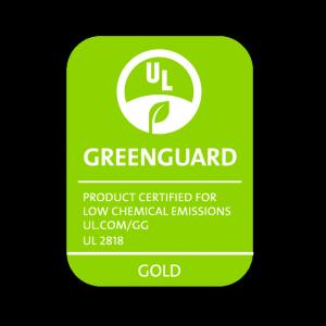 greenguard logo gold